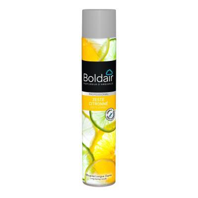 Bombe désodorisante Boldair - parfum zeste citronné - 500 ml (photo)