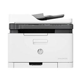 HP Color Laser MFP 179fnw - Imprimante multifonctions - couleur - laser - A4 (210 x 297 mm) (original) - A4/Letter (support) - jusqu'à 18 ppm (copie) - jusqu'à 18 ppm (impression) - 150 feuilles - 33.6 Kbits/s - USB 2.0, LAN, Wi-Fi(n)