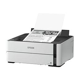 Epson EcoTank ET-M1170 - Imprimante - Noir et blanc - Recto-verso - jet d'encre - refillable - A4/Legal - 1 200 x 2 400 ppp - jusqu'à 20 ppm - capacité : 250 feuilles - USB 2.0, LAN, Wi-Fi
