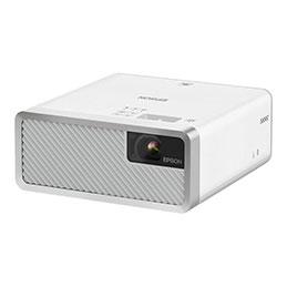 Epson EF-100W - Projecteur 3LCD - portable - WXGA (1280 x 800) - 16:10 - 720p - Bluetooth - blanc (photo)