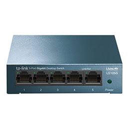 TP-Link LiteWave LS105G - Commutateur - non géré - 5 x 10/100/1000 - de bureau - AC 220 V