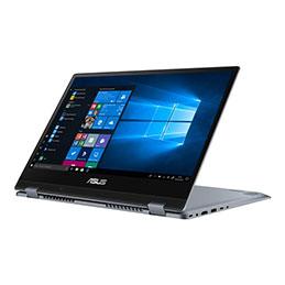 ASUS VivoBook Flip 14 TP412FA EC027R - Conception inclinable - Core i5 8265U / 1.6 GHz - Win 10 Pro - 8 Go RAM - 256 Go SSD - 14