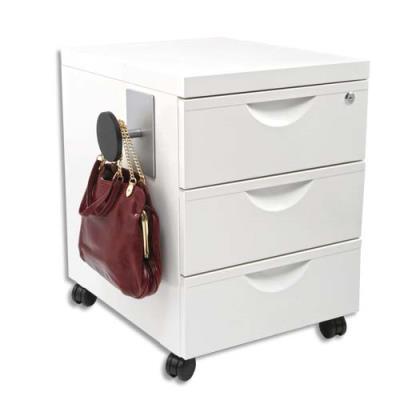 Patère magnétique alu - 8x11,5x7,5 cm (photo)