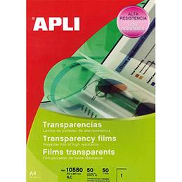 Film transparent Agipa - pour imprimante laser, jet d'encre et photocopieur - boite de 50 (photo)