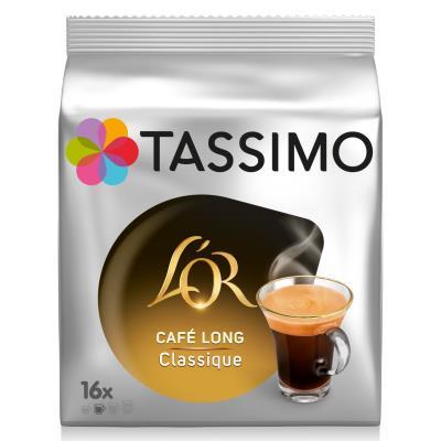 Café Tassimo L'Or Long Classique - sachet de 16 doses