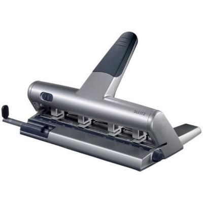 Perforateur 4 trous Leitz 51140 - poinçons mobiles - 30 feuilles