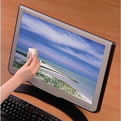 Lingettes pour écrans TFT / Plasma - paquet 10 unités (photo)