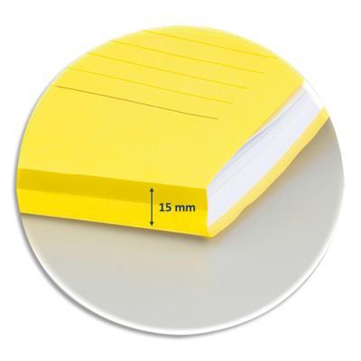 Pochettes coins Elba ELCO - en carte 120g - fenêtre rectangle - coloris assortis - boîte de 10