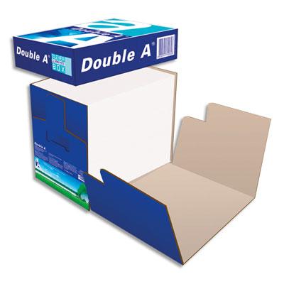 Papier Double A Premium CIE 165 - extra blanc - 80g - A4 - box de 2500 feuilles