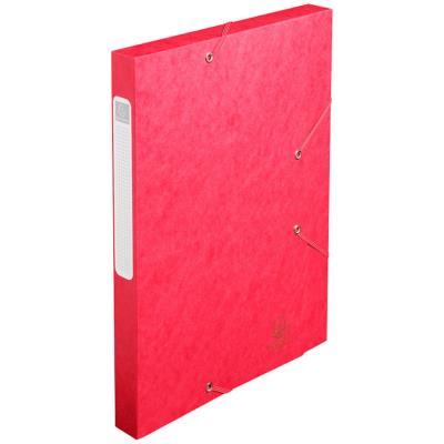 Boîte de Classement Cartobox - dos 25 mm - 240 x 320 mm pour format A4 - rouge