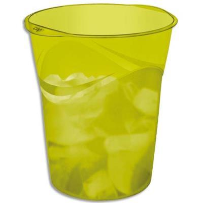 Corbeille à Papier Tonic de Cep - 16 litres - coloris vert Anis (photo)