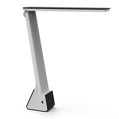 Lampe de bureau LED Seven - puissance 4W - durée 25 000h - sans fil rechargeable par USB - noir