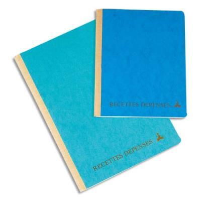 Registre recettes et dépenses Le Dauphin - 17.5x22 cm - 160 pages