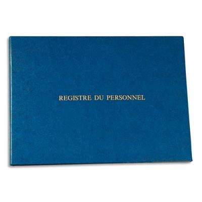 Registre du personnel Le Dauphin -24x32 cm - 40 pages + garde