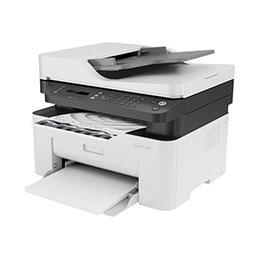 HP Laser MFP 137fnw - Imprimante multifonctions - Noir et blanc - laser - Legal (216 x 356 mm) (original) - A4/Legal (support) - jusqu'à 20 ppm (copie) - jusqu'à 20 ppm (impression) - 150 feuilles - 33.6 Kbits/s - USB 2.0, LAN, Wi-Fi(n)