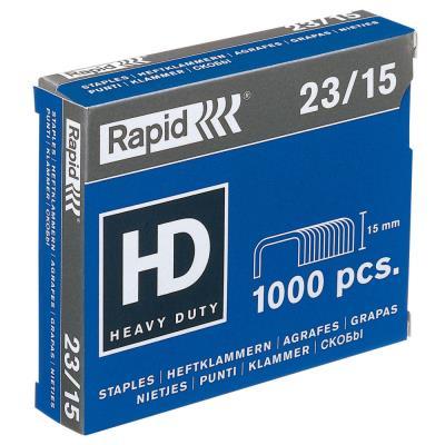 Agrafes Rapid Nº23/15 - boîte de 1000