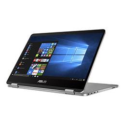 ASUS VivoBook Flip 14 TP401MA BZ080R - Conception inclinable - Pentium Silver N5000 / 1.1 GHz - Win 10 Pro - 4 Go RAM - 64 Go eMMC - 14