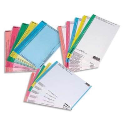 Etiquettes pour dossiers suspendus n 0 pour dossier for Papier imprimante autocollant exterieur