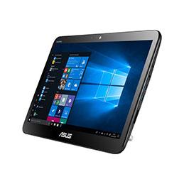 ASUS All-in-One PC A41GAT - Tout-en-un - Celeron N4100 / 1.1 GHz - RAM 4 Go - SSD 256 Go - UHD Graphics 600 - GigE - LAN sans fil: Bluetooth 4.0, 802.11ac - Win 10 Pro 64 bits - moniteur : LED 15.6