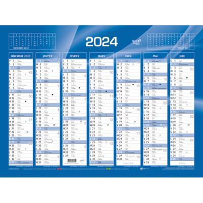 calendrier 2019 mural format 55 x 40 cm 7 mois par