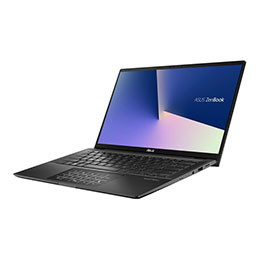 ASUS ZenBook Flip 14 UX463FA-AI013R - Conception inclinable - Core i5 10210U / 1.6 GHz - Win 10 Pro - 8 Go RAM - 512 Go SSD - 14
