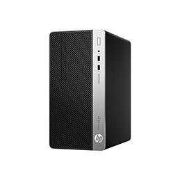 HP ProDesk 400 G6 - Micro-tour - Core i5 9500 / 3 GHz - RAM 8 Go - SSD 256 Go - NVMe - graveur de DVD - UHD Graphics 630 - GigE - Win 10 Pro 64 bits - moniteur : aucun - clavier : Français (photo)
