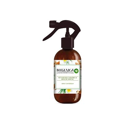 Spray d'intérieur botanica parfum vétiver et bois de santal - flacon 237ml