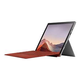 Microsoft surface pro 7 tablette core i5 1035g4 1.1 ghz win 10 pro 8 go ram 256 go ssd 12.3 écran tactile 2736 x 1824 iris plus graphics bluetooth wi fi platine commercial