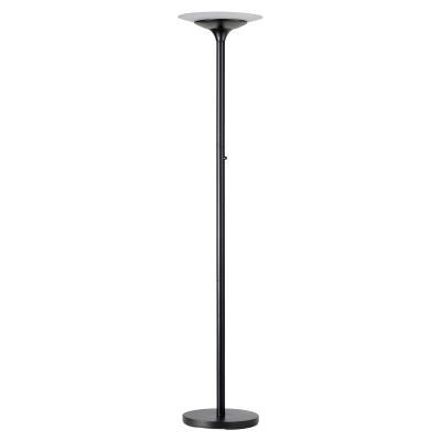 Lampadaire led Unilux Variaglass - noir - 180 cm - 2200 lumens (photo)