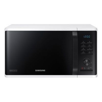 Four micro-ondes solo MS23K3515AW Samsung - 23 litres - blanc (photo)