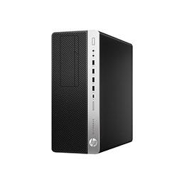 HP EliteDesk 800 G5 - Tour - Core i5 9500 / 3 GHz - RAM 8 Go - SSD 256 Go - NVMe - UHD Graphics 630 - GigE - Win 10 Pro 64 bits - moniteur : aucun - clavier : Français (photo)