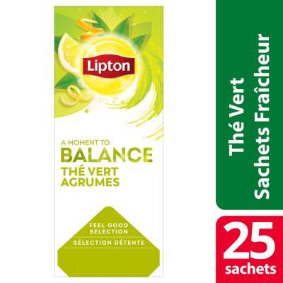 Thé vert agrumes Feel Good Sélection - 25 sachets fraîcheur