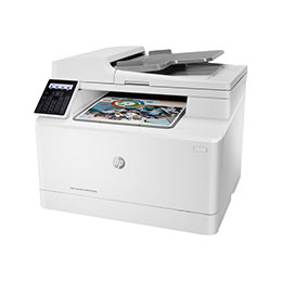 HP Color LaserJet Pro MFP M183fw - Imprimante multifonctions - couleur - laser - 216 x 297 mm (original) - A4/Legal (support) - jusqu'à 16 ppm (copie) - jusqu'à 16 ppm (impression) - 150 feuilles - 33.6 Kbits/s - USB 2.0, LAN, Wi-Fi(n) (photo)