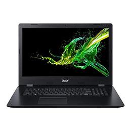 Acer Aspire 3 A317-51-30UP - Core i3 8145U / 2.1 GHz - Win 10 Familiale 64 bits - 4 Go RAM - 256 Go SSD - graveur de DVD - 17.3