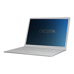 DICOTA - Filtre de confidentialité pour ordinateur portable - 2-way - adhesive - noir - pour Dell Latitude 7200 2-in-1 (photo)
