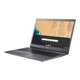 Acer Chromebook 715 CB715-1WT-56SP - Core i5 8250U / 1.6 GHz - Google Chrome OS avec la mise à niveau Chrome Enterprise - 8 Go RAM - 64 Go eMMC - 15.6