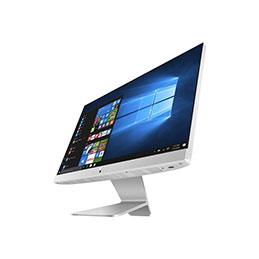 ASUS Vivo AiO V222GAK - Tout-en-un - Pentium Silver J5005 / 1.5 GHz - RAM 4 Go - HDD 1 To - UHD Graphics 605 - GigE - LAN sans fil: 802.11ac, Bluetooth 4.1 - Windows 10 Home - moniteur : LED 21.5