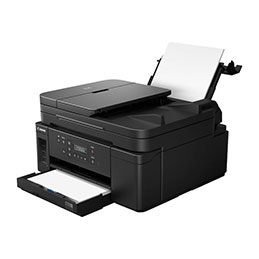Canon PIXMA GM4050 - Imprimante multifonctions - Noir et blanc - jet d'encre - Refillable - A4 (210 x 297 mm), Legal (216 x 356 mm) (original) - A4/Legal (support) - jusqu'à 13 ipm (impression) - 350 feuilles - USB 2.0, LAN, Wi-Fi(n) (photo)