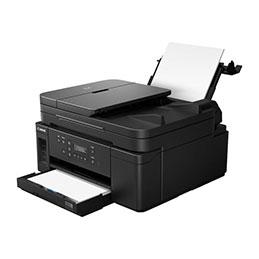 Canon PIXMA GM4050 - Imprimante multifonctions - Noir et blanc - jet d'encre - Refillable - A4 (210 x 297 mm), Legal (216 x 356 mm) (original) - A4/Legal (support) - jusqu'à 13 ipm (impression) - 350 feuilles - USB 2.0, LAN, Wi-Fi(n)