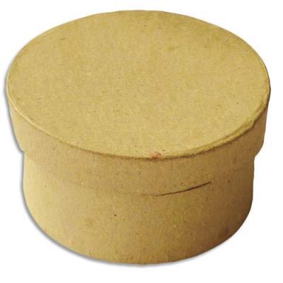 Boîte carton petit modèle ronde diamète 7 cm (photo)