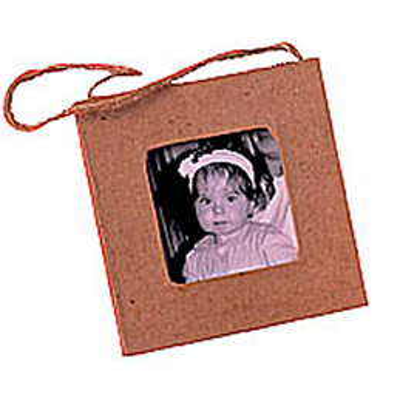 Mini cadre carton carré (photo)