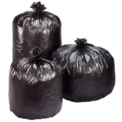 Sacs poubelle plastique Economique - 50 L - gris - carton de 100 sacs