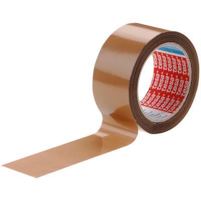Ruban adhésif d'emballage Tesa 4089 - polypropylène - havane - 46 microns - 50 mm x 100 m