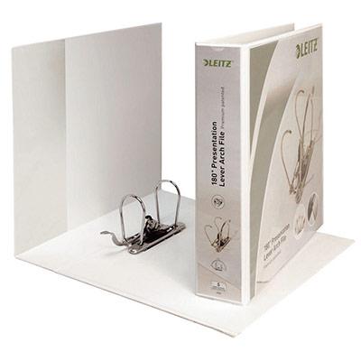 Classeur à levier personnalisable 2 faces Esselte - A4+ - dos 7.5 cm - blanc