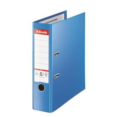 Classeur à levier Esselte Plus - polypropylène - format maxi A4+ - dos 8 cm - bleu