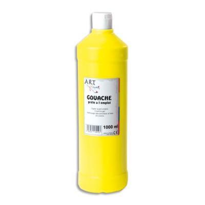 gouache prête à lemploi - 1 litre - Artplus - jaune primaire