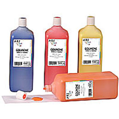 gouache prête à lemploi - 1 litre - Artplus - orange