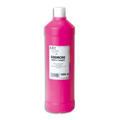 gouache prête à lemploi - 1 litre - Artplus - rouge primaire