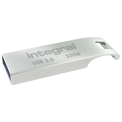 Clé USB 3.0  Metal ARC - 32 Go - métal (photo)