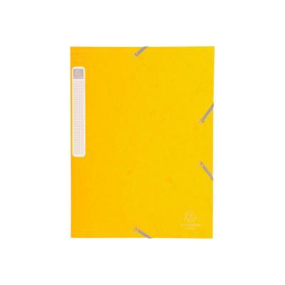 Boite de classement Cartobox - dos 3 cm - carte lustrée 5/10e - jaune
